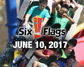A Day At SixFlags June 10, 2017