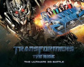 Transformers - The Ride 3D at Universal Studios Hollywood